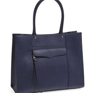 Rebecca Minkoff MAB Tote medium moon navy blue bag